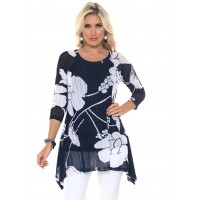 Alisha D Fly Away Tunic