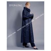 Mycra Pac Pattern Long Donatella Raincoat