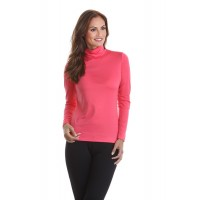 A Nue Ligne Long Sleeve Turtle Neck