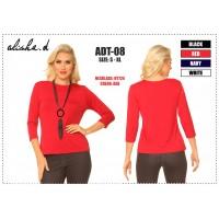 """ NEW"" Alisha D Basic 3/4 Sleeve  T"