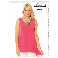 Alisha D Tank with Reversible Neckline