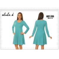 Alisha D Jewel Neck Dress