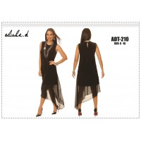Alisha D Chiffon Dress