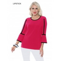 """New"" Alisha D Bell Sleeve Top"