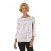 New Lace Bell Sleeve Top