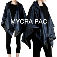 "Mycra Pac ""Stormy"" Poncho"