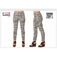 Lior Abstract Pattern Sasha pant