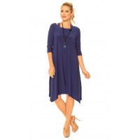 """New"" Alisha D 3/4 Sleeve  Dress"
