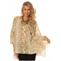 """New"" Alisha D Liquid Gold Tunic"