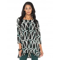""" New""Lior Abstract Pattern Tunic"