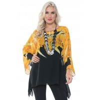 """NEW"" Lior Fly Away Chiffon Top"