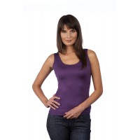 A Nue Ligne Scoop or High Neck Reversible Tank