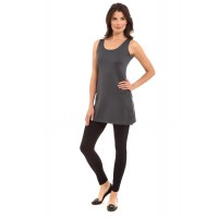 A Nue Ligne Scoop or High Neck Reversible Tunic