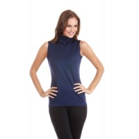 Anue Ligne Longer Length Turtle Neck Tunic